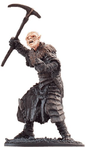 Lord of the Rings Señor de los Anillos Figurine Collection Nº 13 Orc Soldier 1