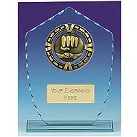 Placa de Cristal Personalizable para Artes Marciales de Varsity, 8 7/8 Inch (20cm)