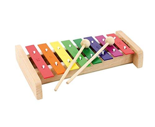 Betzold 88810 Boomwhackers Glockenspiel, mehrfarbig, 24 cm (Tray Und Die Ist Klinge)