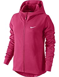 NIKE Women's Advance 15 Sweat Jacket Full Zip Hoody rosa