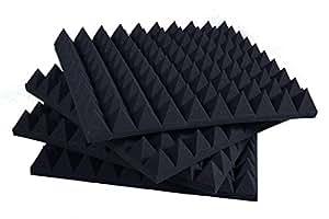 Pannelli fonoassorbenti piramidali correzione acustica for Bricoman pannelli fonoassorbenti