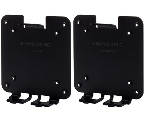 VESA Mount Adapter for HP Pavilion 27xw, 25xw, 24xw, 23xw, 22xw, 22cwa, 27cw, 25cw, 24cw, 23cw, and 22cw Monitors (Compare to CVB100 and L6V75AA) - 2 pack [Patent Pending] - by HumanCentric