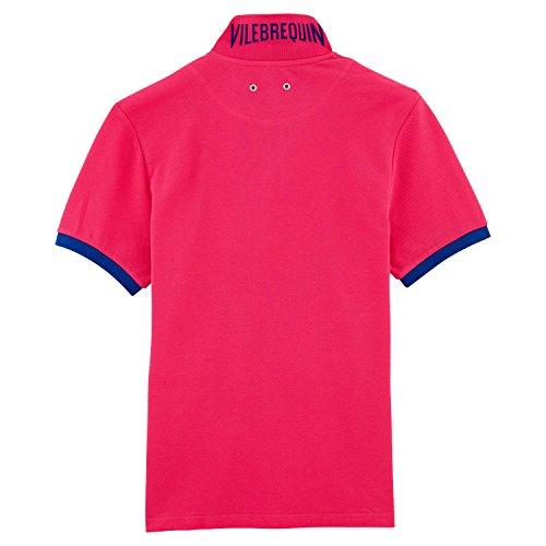 Vilbrequin Einfarbiges Polohemd Aus Baumwollpikee - Herren Shocking Pink