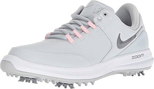 Nike Wmns Air Zoom Accurate, Scarpe da Golf Donna, Multicolore (Pure Platinum/Cool G 002), 42.5 EU