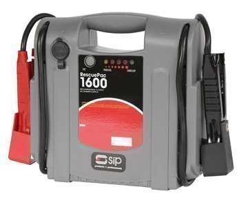 Car Battery Power Booster Jump Starter Road Start Rescue Pack 1600 12v SIP 03936