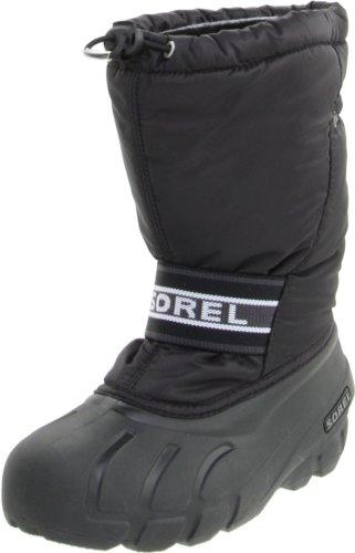 Sorel  Cub, Bottes de ski mixte enfant Noir - Noir
