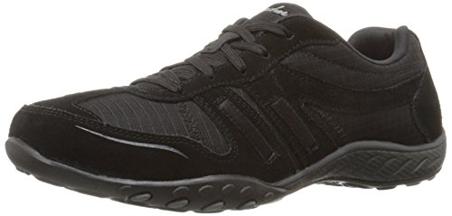 Skechers Damen Active Breathe-Easy Jackpot Sneaker Schwarz (Blk)
