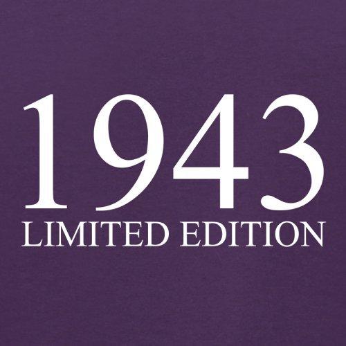 1943 Limierte Auflage / Limited Edition - 74. Geburtstag - Herren T-Shirt - 13 Farben Lila