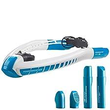 AMEO POWERBREATHER WAVE ----- Setinhalt ----- 1x AMEO POWERBREATHER - Schnorchel mit intelligentem AMEO FRESH AIR SYSTEM für 100% Frischluft. Für Schwimmen mit stets frischer, trockener Atemluft bei freier Sicht und perfektem Halt. 2x AMEO POWERBREAT...
