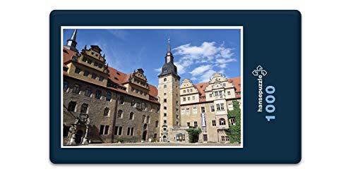 hansepuzzle 63519 Gebäude - Merseburger Schloss, 1000 Teile in Hochwertiger Kartonbox, Puzzle-Teile...
