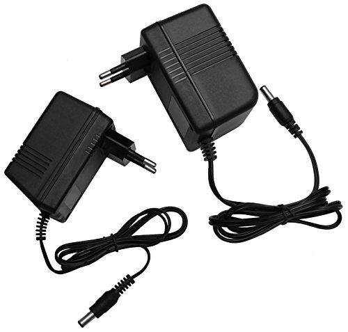 AC - AC 24V Steckernetzteil 5,5mm Hohlstecker Wechselspannung Netzteil Trafo (Ampere: 1A) (24V/1000mA)