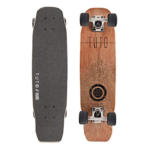 JUCKER HAWAII Woody-Board mit und ohne Kicktail in 3 Designs (JUCKER HAWAII Woody-Board TUTO Kick)