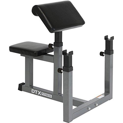 DTX Fitness - Panca Preacher Curl regolabile