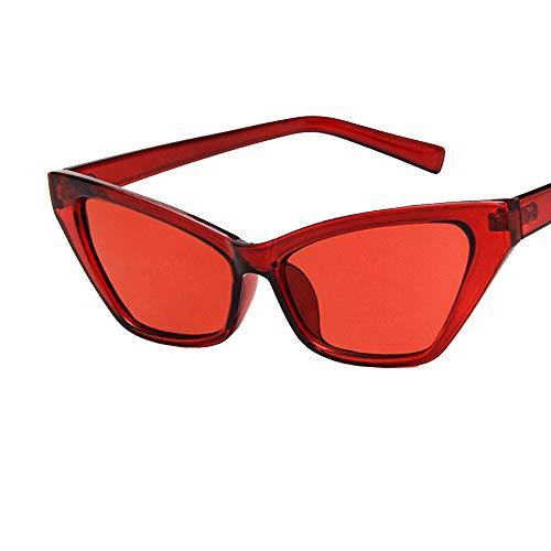 Battnot☀  Sonnenbrille für Damen Herren, Unisex Katzenaugen Frame Vintage Mode Rahmen UV Gläser klare Linse Optische Sonnenbrillen Männer Frauen Retro Billig Cat Eye Shades Sunglasses Women Eyewear