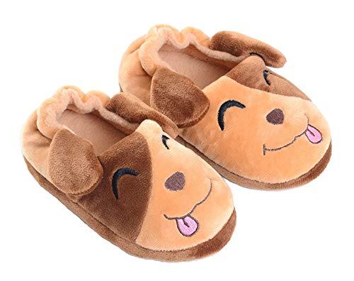 Haizhe Pantofole A Casa per Bambini Peluche Antiscivolo Scarpe Indoor delle Pantofole per...