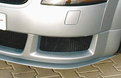 Rieger Spoilerschwert matt schwarz gerade für Spoileransatz 55116 für Audi TT (8N): 98-03 Coupé, Roadster