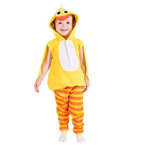 Sesam Kostüm - Fun Shack FNK4478-102 Kostüm, Unisex Children, Chick, Größe S