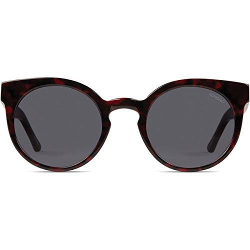 Komono Damen Sonnenbrille LULU , Größe:ONESIZE, Farbe:rot, Farben:ACETATE TORTOISE RED