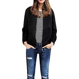 Oasics Fashion Shirt Damenjacke Volltonfarbe Große Größe Zipjacke Jacke Damenhemd L -4XL