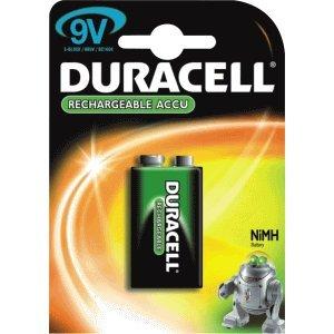 Duracell Akku HR22 NiMH 9V-Block 150mAh
