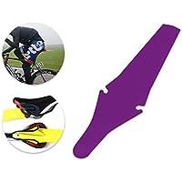 DSstyles Bicicleta Guardabarros plegable Saddle Flap Fender para MTB Mountain Road Bike - Purple