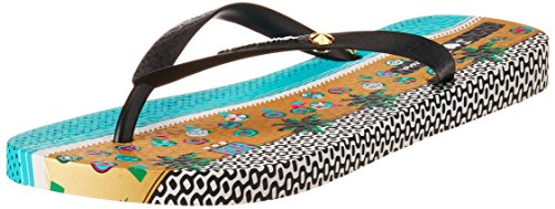 Ipanema Damen I Love Tribal Fem Zehentrenner Mehrfarbig (8688 beige/black)