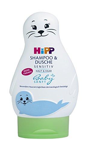 HiPP Babysanft Shampoo und Dusche, 1er Pack (1 x 0.2 kg)