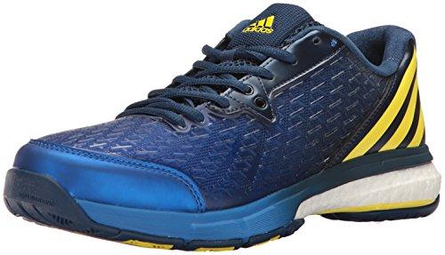 adidasEnergy Volley Boost 2.0-Mens - Energy Volley Boost 2.0 Herren, Blau (Mystery Blue/Lemon Peel/Satellite), 42 EU D(M)