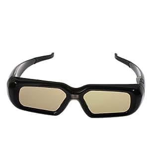3D Active Shutter lunettes pour DLP-Link Projector 3D Ready-noir