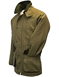 Walker and Hawkes – Chaqueta para hombre Derby Tweed de caza, color salvia