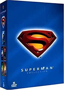 Collection Superman : Superman I à IV  - Superman Returns Coffret 5 DVD