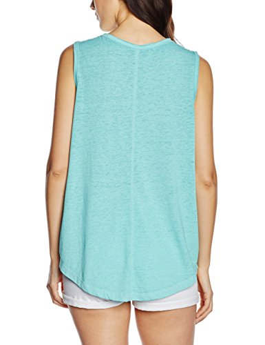 Q/S designed by - s.Oliver Damen Top 41.605.34.2380 Blau (light blue placed print 60D0)