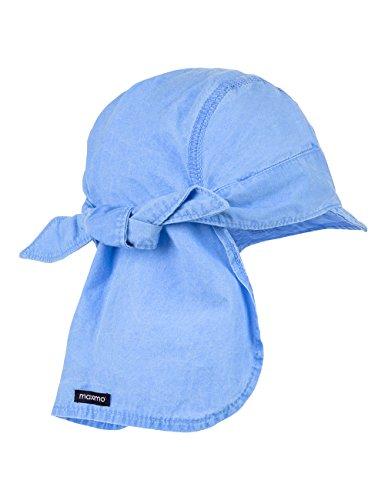maximo Bandana Mit Schild - Bonnet - Garçon Blau (Blau (denim blue 40) 40)
