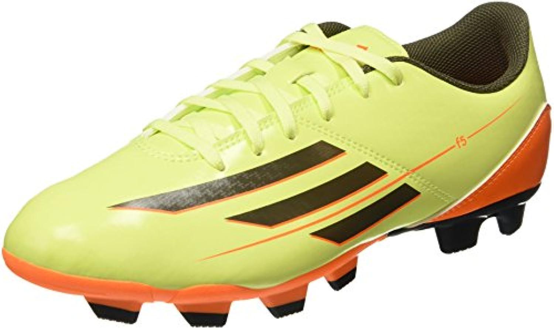 Adidas F5 TRX FG - Botas de fútbol para hombre lime / orange Talla:10.5 UK - 45.1/3 EU