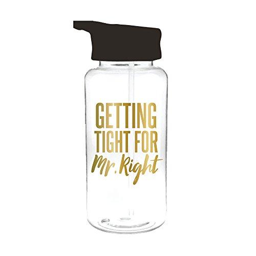 Slant Kollektionen 33oz Loop Wasser Flasche Erste Tight für Mr. Right - 33oz-wasser-flasche