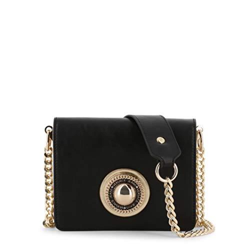 Versace Jeans Couture Damen Bag Umhängetasche, Schwarz (Nero), 5,5x13,5x17,5 Centimeters