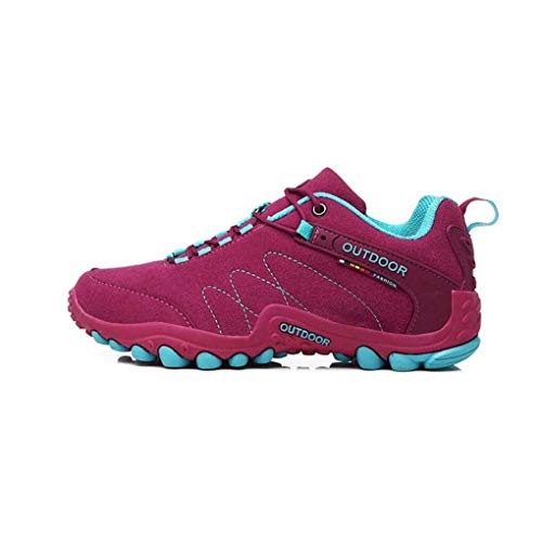 HhGold Wanderschuhe, Herren-Paar Outdoor-Schuhe, Rutschfeste Tragen Cross-Country-Laufschuhe, Schnürschuhe, Damen Sportschuhe (Farbe : B, Größe : 36) (Farbe : B, Größe : 39)