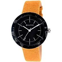 Reloj Bilyfer para Hombre con Correa Amarilla y Pantalla en Negra 1F657-AM
