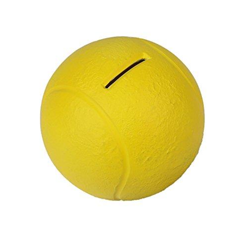 HMF 48910 Spardose Tennisball 10 cm Durchmesser, gelb