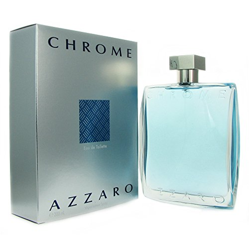 Chrome Azzaro for Men by Azzaro Eau De Toilette Spray 6.8 Ounces
