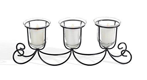 Adorn Home Essentials schmücken Einzigartiges Design Kerzenhalter, Set