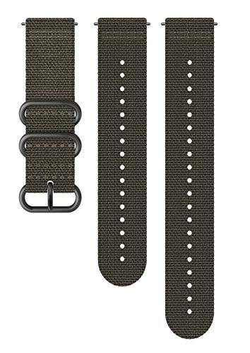 SUUNTO Uhrenarmband Zubehör, Unisex-Erwachsene Herren, 24mm Silicone, Foliage Gray- Explore, 24mm ; M+L (130-240 mm) -
