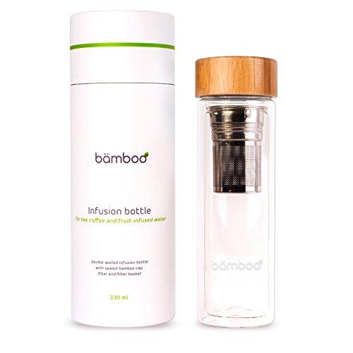 bämboo - Théière infusion avec filtre