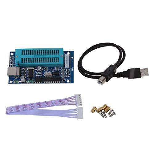 SODIAL(R) USB PIC Programador microcontrolador de desarrollo de microchip automatico K150 ICSP con Cable