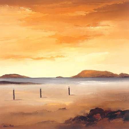 Quiet Sands I Von Paus, Hans Kunstdruck auf Leinwand - Klein (39 x 39 cms ) - Hans Paus Quiet Sands