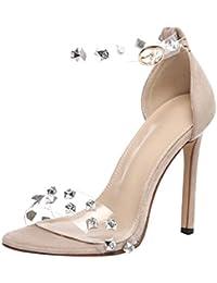 Amazon.it  Sandalo Chiuso Donna - Beige   Scarpe  Scarpe e borse 88f862d8331