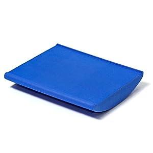 softX Balance Trainingsgerät Koordinationswippe, blau, für Airex Balance Pad, ca. 50 x 45 x 9.0 cm