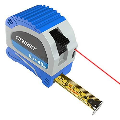 Cacoffay Multifunktions Entfernungsmesser-USB-Aufladung mit Batteriekapazität 300mA Abstand zwischen Lasermessgerät mit digitalem LCD-Display -