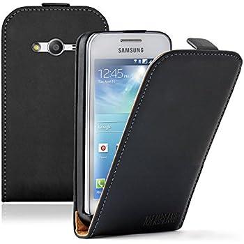 Membrane - Ultra Slim Noir Etui Coque Samsung Galaxy Ace 4 (SM-G357 / G357FZ): Amazon.fr: High-tech