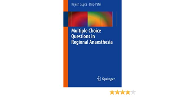 Multiple choice questions in regional anaesthesia ebook array multiple choice questions in regional anaesthesia ebook rajesh rh amazon in fandeluxe Image collections